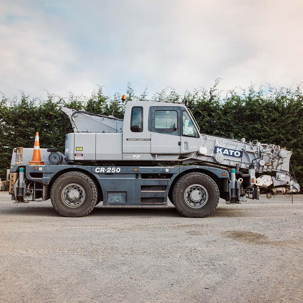Kato CR250 – 25 Tonne Crane