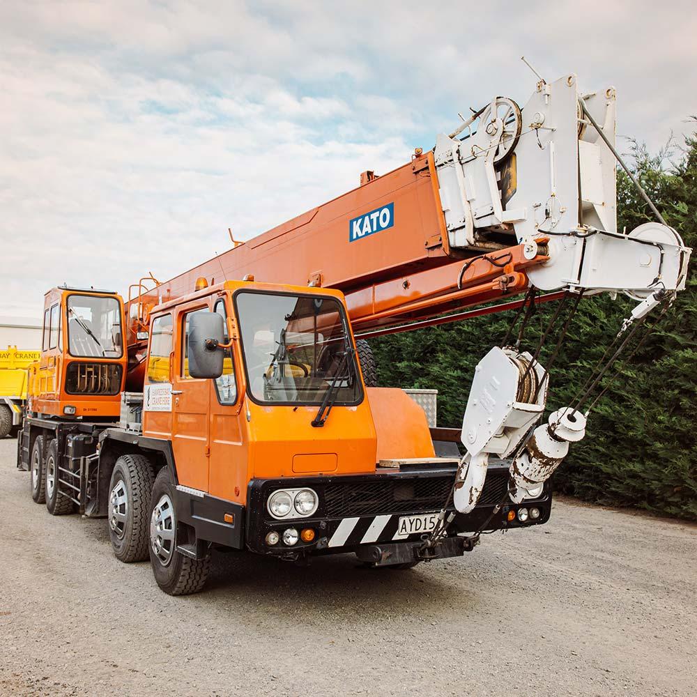 Kato N250V – 25 Tonne Crane