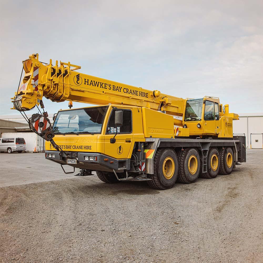 Tadano Faun ATF60-4 – 60 Tonne Crane