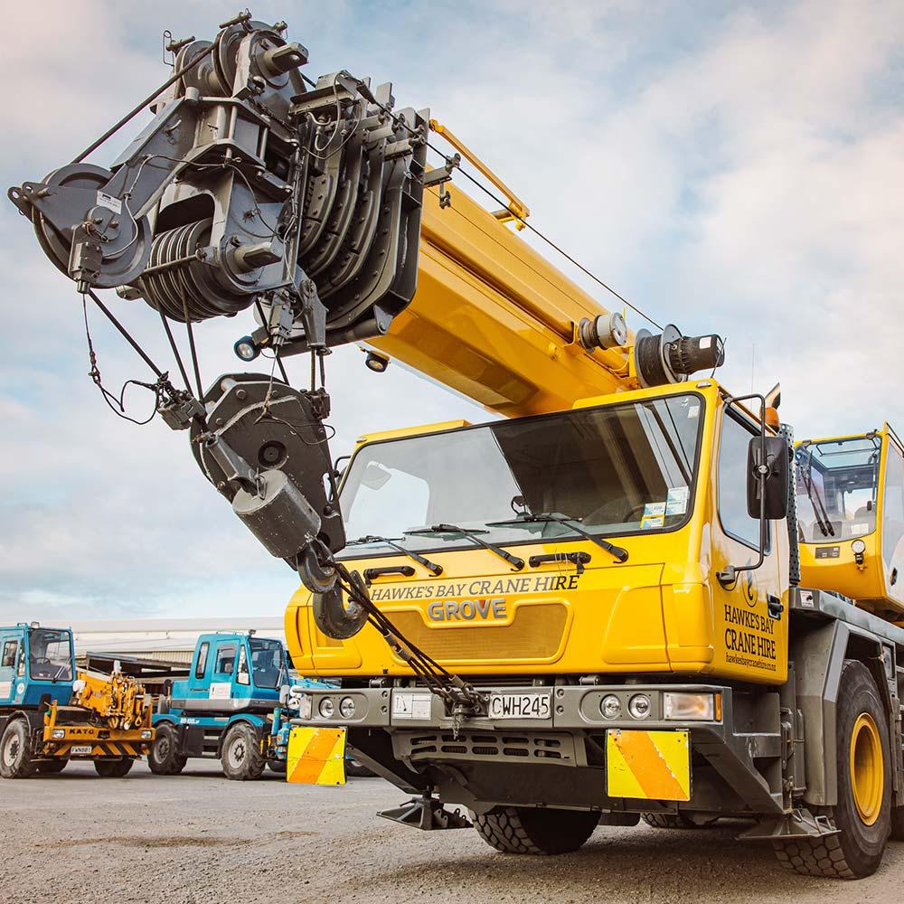 Grove GMK3050 – 50 Tonne Crane