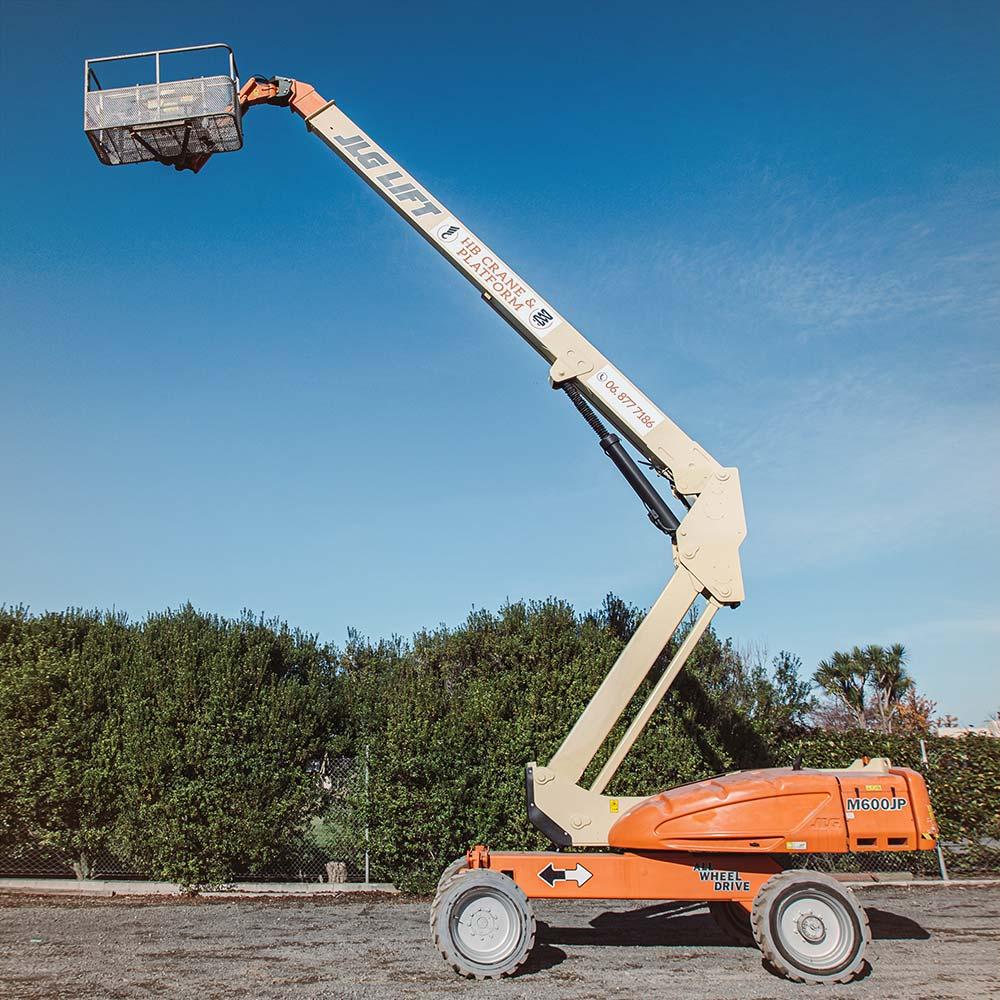 Electric Telescopic Z-Boom – JLG M600JP Electric Boomlift